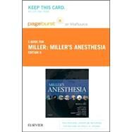 Miller's Anesthesia Pageburst E-book on Vitalsource Retail Access Card by Miller, Ronald D.; Eriksson, Lars I.; Fleisher, Lee; Wiener-Kronish, Jeanine P.; Cohen, Neal H., 9780323352185