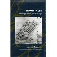 Homo Sacer by Agamben, Giorgio, 9780804732185