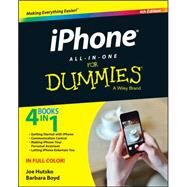 Iphone All-in-one for Dummies by Hutsko, Joe; Boyd, Barbara, 9781118932186