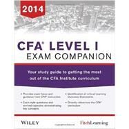 CFA level I Exam Companion The Fitch Learning/Wiley Study guide to getting the most out of the CFA Institute Curriculum by Unknown, 9781118832189
