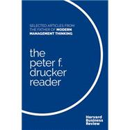 The Peter F. Drucker Reader by Drucker, Peter Ferdinand; Harvard Business Review, 9781633692190