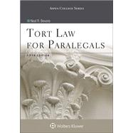 Tort Law for Paralegals 5e by Bevans, Neal R., 9781454852193
