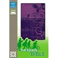 Holy Bible: New International Version, Pizzazz Purple, Italian Duo-Tone, Backpack Bible by Zondervan, 9780310722205