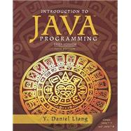 Intro to Java Programming, Brief Version by Liang, Y. Daniel, 9780133592207