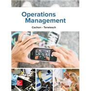 Operations Management, 1e by Cachon, Gerard; Terwiesch, Christian, 9781259142208