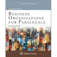 Business Organizations for Paralegals by Bouchoux, Deborah E., 9781454852209