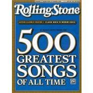 Rolling Stone 67 Selections From The 500 Greatest Songs Of All Time: Classic Rock to Modern Rock, Easy Guitar Tab by Alfred Publishing, 9780739052211