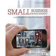 Small Business Management, 6th Edition by Longenecker, 9780176532215