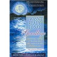I Wasn't Ready to Say Goodbye: Surviving, Coping and Healing After the Sudden Death of a Loved One by Noel, Brook, 9781402212215