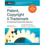 Patent, Copyright & Trademark by Stim, Richard, 9781413322217