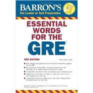 Barron's Essential Words for the GRE by Geer, Philip, 9781438002217