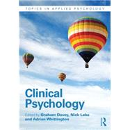 Clinical Psychology by Davey; Graham, 9781848722217