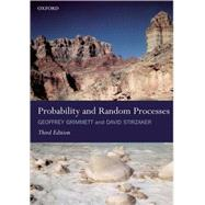Probability and Random Processes by Grimmett, Geoffrey R.; Stirzaker, David R., 9780198572220