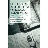 Historical Anthology of Kazan Tatar Verse by Bukharaev; Ravil, 9781138992221