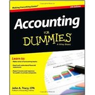 Accounting for Dummies by Tracy, John A., 9781118482223