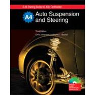 Auto Suspension and Steering Textbook w/Job Sheets on CD by Johanson, Chris; Stockel, Martin T., 9781605252230