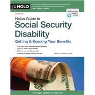 Nolo's Guide to Social Security Disability by Morton, David A., III, M.D., 9781413322231