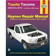 Haynes Toyota Tacoma 2005 Thru 2015 Automotive Repair Manual by Hamilton, Joe L.; Haynes, John R., 9781620922231