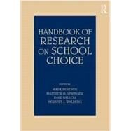 Handbook of Research on School Choice by Berends; Mark, 9780805862232