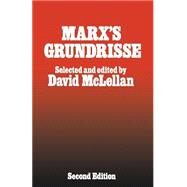 Marx's Grundrisse by McLellan, David, 9781349052233