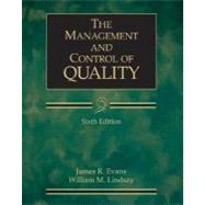 THE MANAGEMENT AND CONTROL OF QUALITY, Sixth Edition provides a managerially oriented, integrated view with a blend of pertinent technical topics