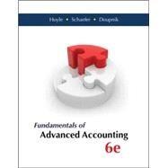 Fundamentals of Advanced Accounting by Hoyle, Joe Ben; Schaefer, Thomas; Doupnik, Timothy, 9780077862237