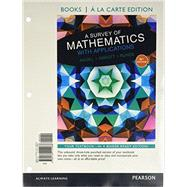 Survey of Mathematics with Applications, A, a la Carte edition plus NEW MyLab Math with Pearson eText by Angel, Allen R.; Abbott, Christine D.; Runde, Dennis, 9780134112237