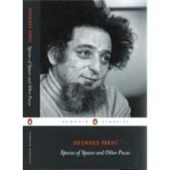 Species of Spaces and Other Pieces by Perec, Georges (Author); Sturrock, John (Translator); Sturrock, John (Editor), 9780141442242