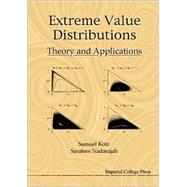 Extreme Value Distributions by Kotz, Samuel; Nadarajah, Saralees, 9781860942242