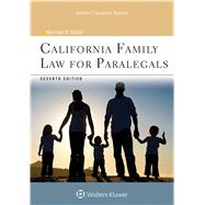 California Family Law for Paralegals by Waller, Marshall W., 9781454852247