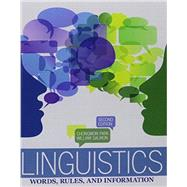 Linguistics: Words  Rules and Information by PARK, CHONGWON, 9781465212252