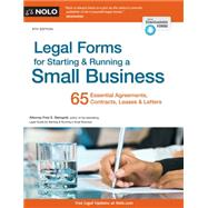 Legal Forms for Starting & Running a Small Business by Steingold, Fred S., 9781413322255