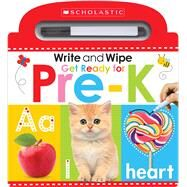 Write and Wipe Get Ready for Pre-K (Scholastic Early Learners) by Scholastic; Scholastic Early Learners, 9781338272260