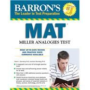 Barron's MAT by Sternberg, Robert J., Ph.D.; Sternberg, Karin, Ph.D., 9781438002262