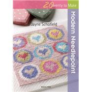 Modern Needlepoint by Schofield, Jayne, 9781782212263