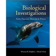 Biological Investigations Lab Manual by Dolphin, Warren; Vleck, David, 9780073532264