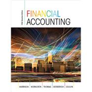 Financial Accounting, Fifth Canadian Edition by Walter T. Harrison;   Charles T. Horngren;   C. William Thomas;   Greg  Berberich;   Catherine  Seguin, 9780133472264