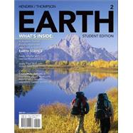 EARTH 2 (with CourseMate, 1 term (6 months) Printed Access Card) by Hendrix, Mark; Thompson, Graham R., 9781285442266