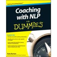 Coaching With NLP For Dummies by Burton, Kate, 9780470972267