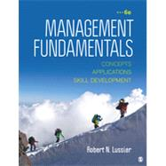 Management Fundamentals by Lussier, Robert N., 9781483352268