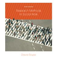 Research Methods In Social Work by Royse, David, 9780840032270