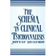 The Schema in Clinical Psychoanalysis by Slap,Joseph W., 9781138872271