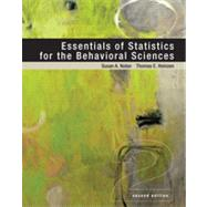 Essentials of Statistics for the Behavioral Sciences by Nolan, Susan A.; Heinzen, Thomas, 9781429242271