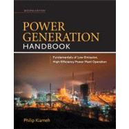 Power Generation Handbook 2/E by Kiameh, Philip, 9780071772273