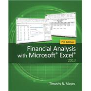 Financial Analysis with Microsoft Excel by Mayes, Timothy R., 9781285432274