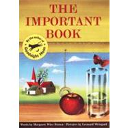 The Important Book by Brown, Margaret Wise, 9780064432276