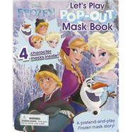 Frozen Let's Play Pop-out Mask Book by Parragon, 9781472382276