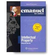 Emanuel Law Outlines: Intellectual Property by Barrett, Margreth, 9781454852278