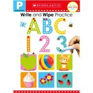 Write and Wipe Practice Flip Book: ABC 123 (Scholastic Early Learners) by Scholastic; Scholastic Early Learners, 9781338272284