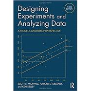 Designing Experiments and Analyzing Data: A Model Comparison Perspective, Third Edition by Maxwell; Scott E., 9781138892286